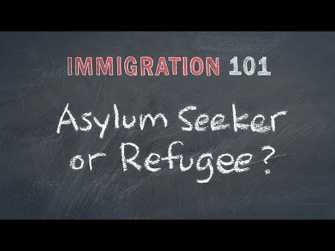 Immigration 101: Refugees, Migrants, Asylum Seekers - What's the Difference?
