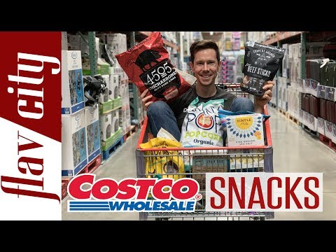 MASSIVE Costco Haul - Every Snack Item Reviewed - What To Buy & Avoid
