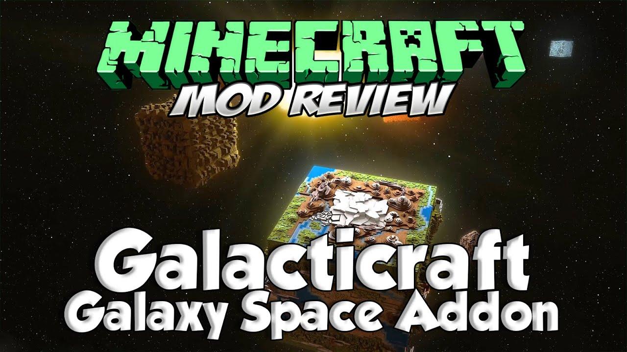 GALACTICRAFT MOD - Galaxy Space Addon Forge[1.7.10 ...