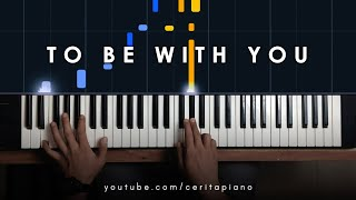 Mr. Big - To Be With You (Piano Tutorial)