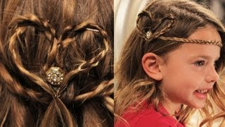 Hey everyone!! Today Babytard and I want to show you two cute ways to style your hair or your little girl's hair for Valentine's Day!! Isn't Babytard the cutest?!! Let us know what you think!! Happy Valentine's Day!!:)  Check out more Babytard!: http://www.youtube.com/user/SHAYTARDS  Royalty Free Music by http://audiomicro.com/royalty-free-music  Follow me! Facebook: https://www.facebook.com/pages/HeyKayli/222550661132178 Twitter:  https://twitter.com/#!/Hey_Kayli  SUBSCRIBE to THEMOMSVIEW http://www.youtube.com/themomsview  SUBSCRIBE to THEMOMSVIEWTOO http://www.youtube.com/themomsviewtoo  SUBSCRIBE to CARLIESTYLEZ http://www.youtube.com/carliestylez  SUBSCRIBE to KATILETTE http://www.youtube.com/katilette  SUBSCRIBE to MIYA http://www.youtube.com/user/MIYA  SUBSCRIBE TO BELLAMISHELLA http://www.youtube.com/bellamishella
