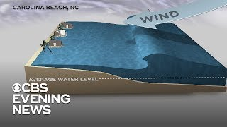 Hurricane Florence could bring a historic storm surge to North Carolina