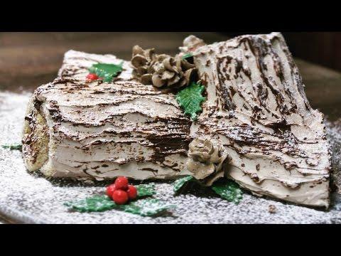 buche de noel 2018 youtube Bûche de Noël | Schoko Biskuitrolle | Weihnachtsklassiker | How to  buche de noel 2018 youtube