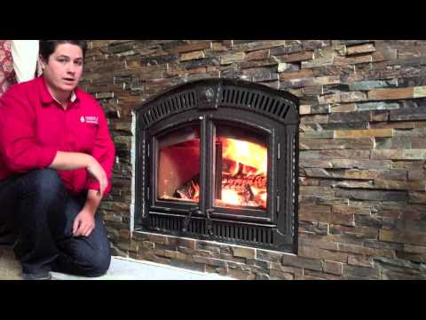 NZ3000 Napoleon Wood Burning Fireplace Zero Clearance Product reivew Burn Video