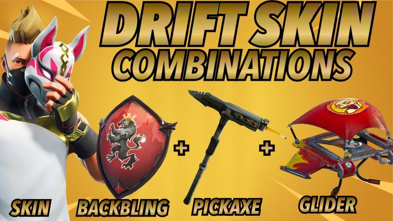 Drift Skin Best Backbling Skin Combos Season 5 Skin Fortnite