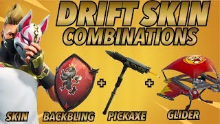 """DRIFT"" SKIN BEST BACKBLING - SKIN COMBOS! (Saison 5 peau) (Fortnite Battle Royale) (2018)"