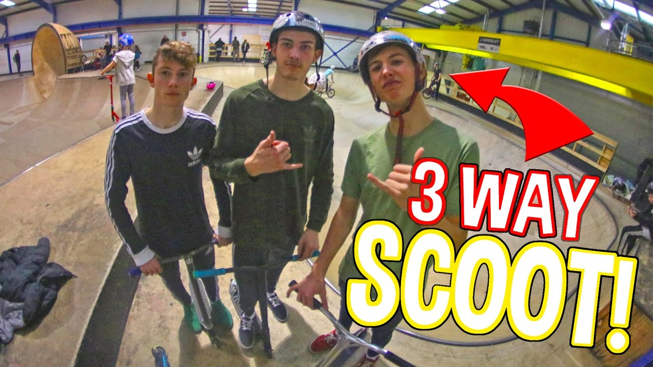 3 Way Game Of Scoot Youtube