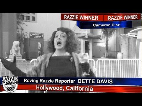 Cameron Diaz wins a Razzie!