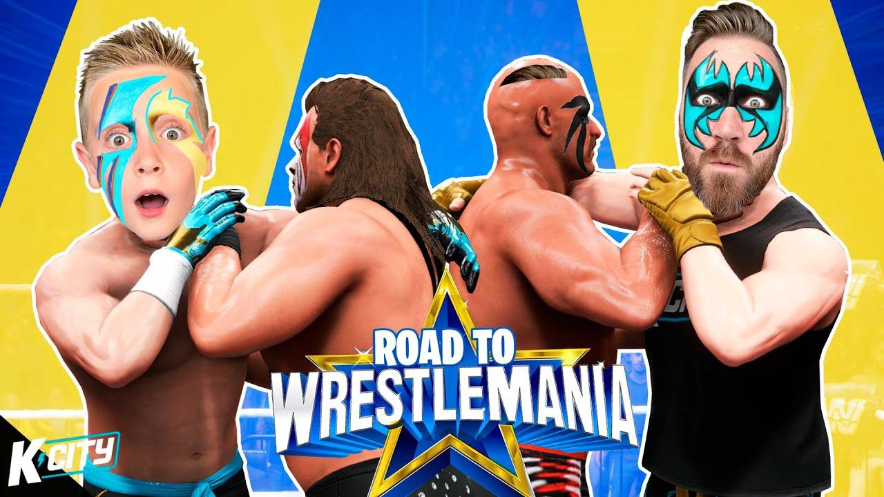 WWE WARPAINT Challenge!!! (Road to WrestleMania 2021 Part 3) RTWM K-CITY GAMING