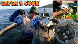 Best Fishing Trip in Bulalacao Island Mindoro Philippines | Catch and Cook
