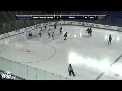 UNH Women's Ice Hockey Highlights Vs Northeastern (10/30/14)