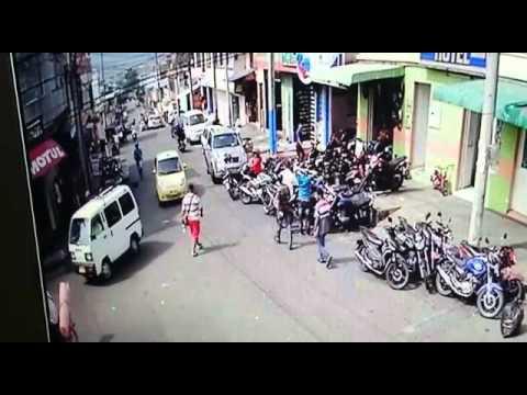 Exclusivo: En video caso de sicariato en el Barrio Hipódromo de Ibagué.