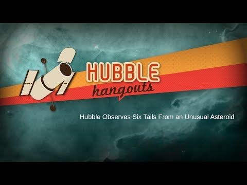 Hubble Observes Six Tails from an Unusual Asteroid
