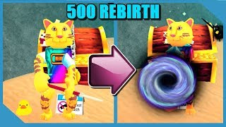 How Powerful is 500 Rebirth in Roblox Treasure Hunt Simulator