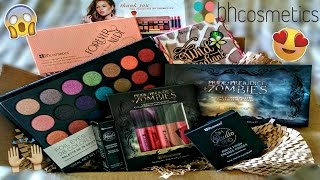 BH Cosmetics Unboxing/Haul | NEW Products 2016