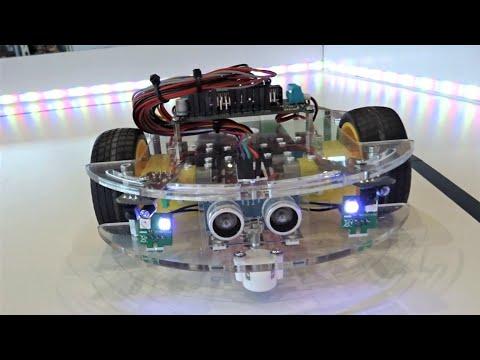Variobot RC Roboter (KI Robot) - Messe Modell und Technik Stuttgart 2019