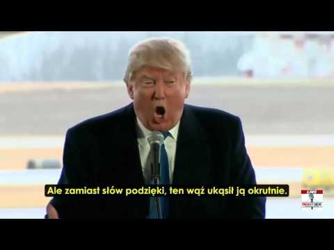 Trump wie, że Barack Hussein Obama jest Szatanem, Diabłem, Lucyferem - Wężem