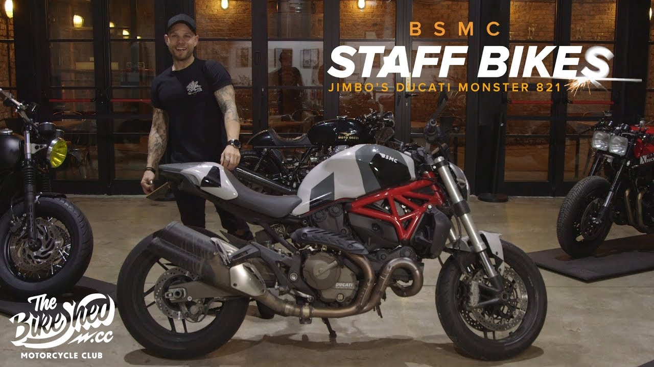 Ducati Monster 821 >> Staff Bikes Jimbo S Ducati Monster 821
