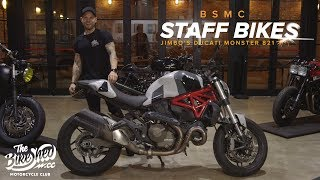 Staff Bikes: Jimbo's Ducati Monster 821