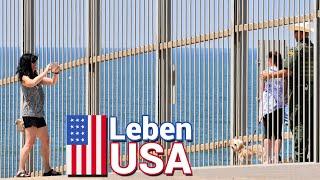 Grenze USA und Mexiko: Mexikaner an der Mauer!