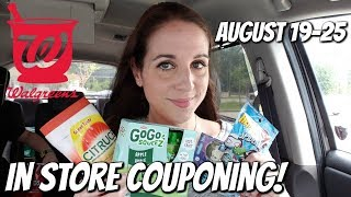 WALGREENS IN STORE COUPONING 8/19/18-8/25/18! HOT CLEARANCE FINDS!