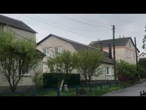 Последствия смерча в Рыльске 9 мая 2019г