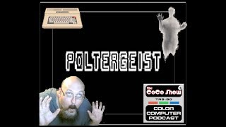 Poltergeist (1982) - (TRS-80 Color Computer) (Real Hardware) Coco Show Plays