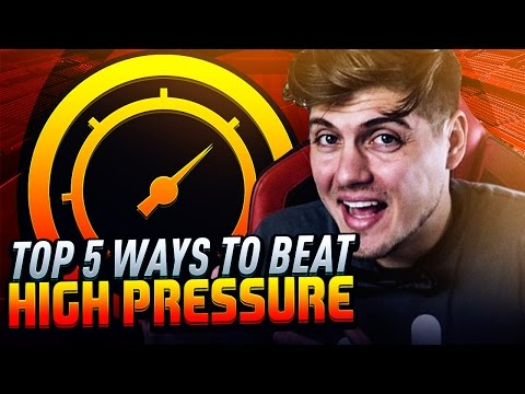 HOW TO BEAT HIGH PRESSURE IN FIFA 17 ULTIMATE TEAM! TOP 5 ATTACKING TIPS TO CREATE CHANCES TUTORIAL!