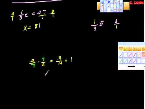 multiplicative inverse reciprocal algebra youtube. Black Bedroom Furniture Sets. Home Design Ideas
