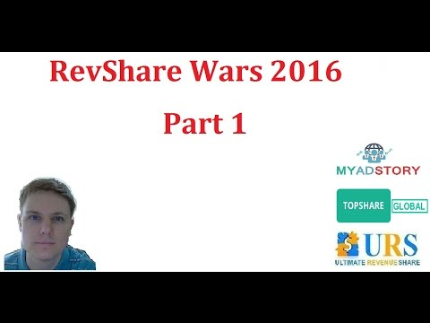 RevShare Wars 2016 – Freedom5 Rant –  Part 1