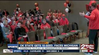 Oklahoma State draws Michigan in NCAA Tournament opener
