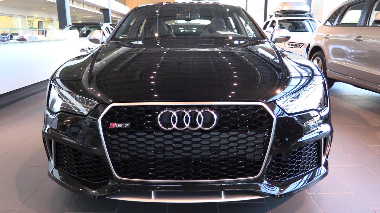 2016 Audi RS7 Walkaround Captured in 1080p60 with Canon XC10