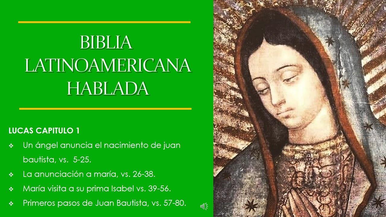 BIBLIA LATINOAMERICANA, LUCAS 1 - YouTube
