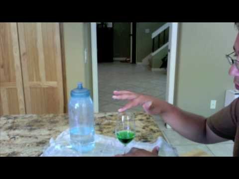 how to make music with a wine glass.