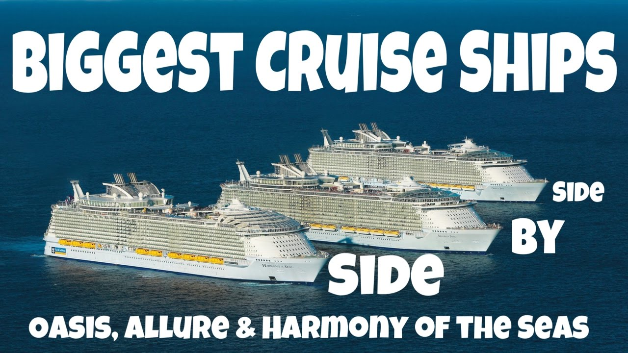 Biggest Cruise Ships Meetup Royal Caribbean S Oasis