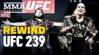 UFC 239 Rewind: Jon Jones, Amanda Nunes Retain Titles - MMA Fighting