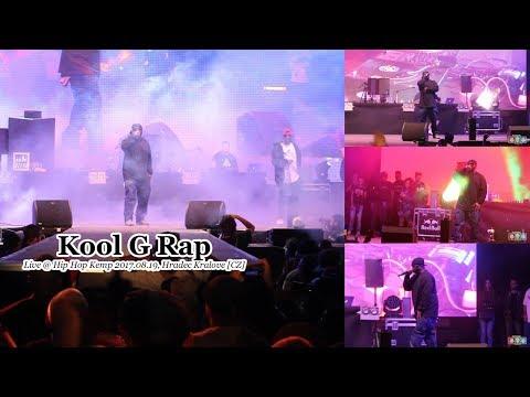 Kool G Rap • Live @ Hip Hop Kemp 2017.08.19, Hradec Kralove [CZ] #HHK2017