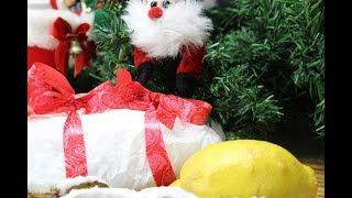Рецепт- Рождественский творожный штоллен