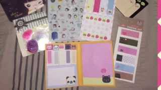 Born Pretty Store Planner Supplies Haul + Coupon Code and FREE SHIPPING