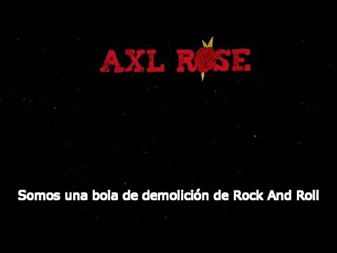 Axl Rose – Rock The Rock [Subtítulos Español/New Looney Tunes]