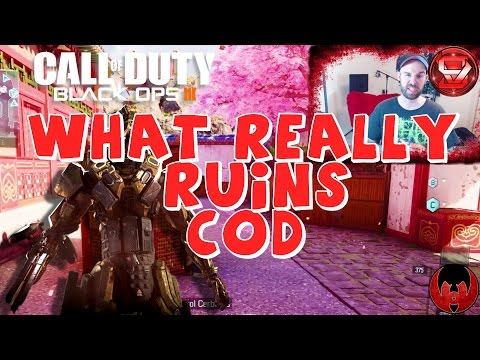 What Really Ruins Call of Duty - Black Ops 3 Domination Gameplay - Knife Only