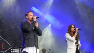 Sasha feat. LYNNE - Silver Linings @ Kieler Woche 19.06.2015