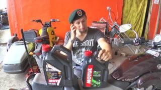 """""""Автомобильное"""" масло в мотоцикл!?!?"""