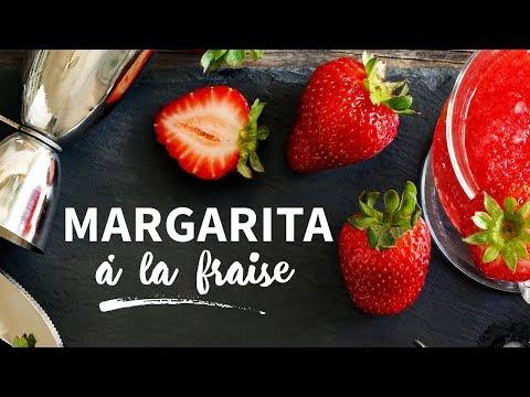 Margarita à la fraise