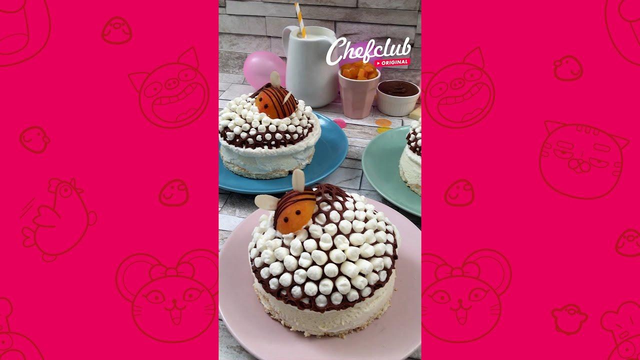 🐝🍦 초콜릿 벌집 케이크 #SHORTS