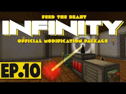 FTB Infinity Lite 1.10 - Deep Resonant Crystal Laser Power! #10 [Modded Survival]