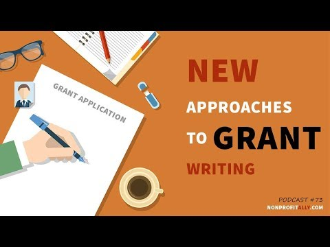 New Approaches To Grant Writing With Holly Rustick
