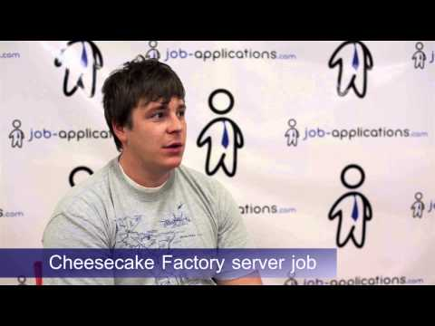 Cheesecake Factory Interview - Server