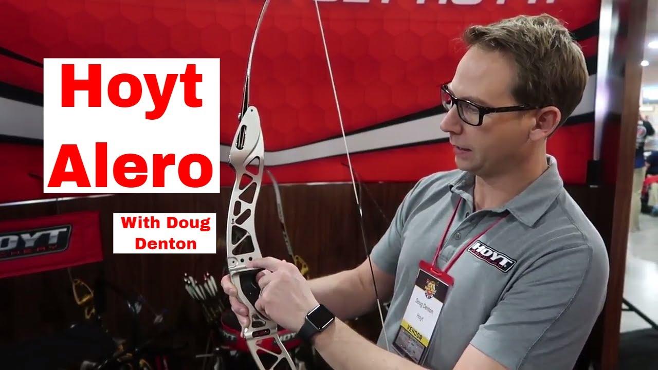 Hoyt Alero With Senior Recurve Engineer Doug Denton