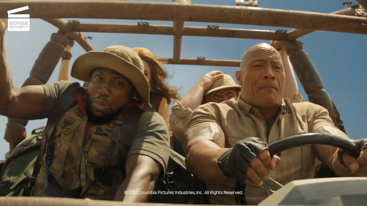 Download Jumanji :Next Level - Scène de l'attaque des autruches (CLIP HD)